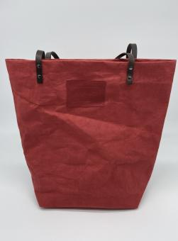 Shopper aus Zellulose-Latex Mischung Red Apple